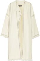 Isabel Marant Baxter embellished embroidered wool coat