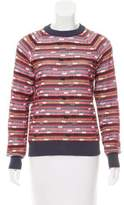 YMC Patterned Long Sleeve Sweater