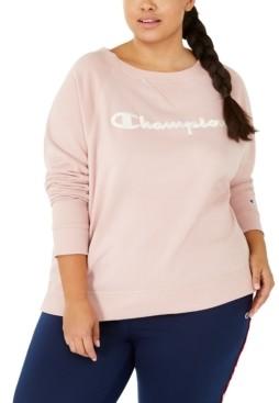 Champion Plus Size Logo Graphic Sweatshirt
