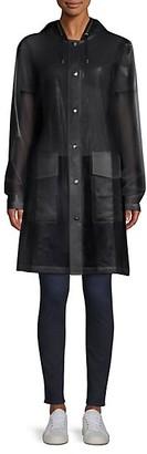 Rains LTD Mirage Capsule Hooded Translucent Coat
