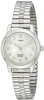 "Timex Women's T2M826 ""Elevated Classics"" Stainless Steel Watch"