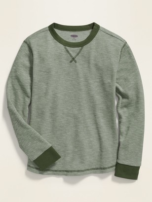 Old Navy Thermal Crew-Neck Tee for Boys