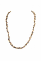 House Of Harlow Skull Headpiece/Necklace in Gold