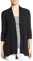 Bobeau Women's High/low Jersey Cardigan