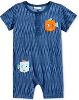 First Impressions Fish Pocket Romper, Baby Boys (0-24 months), Created for Macy's