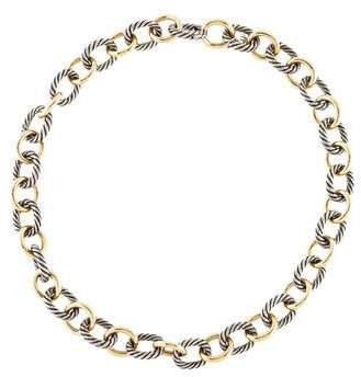 David Yurman Large Oval Link Necklace