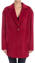 Trussardi Women's Red Polyester Coat.