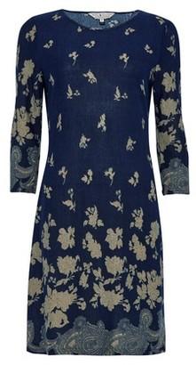 Dorothy Perkins Womens Billie & Blossom Navy Floral Print Shift Dress