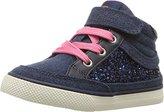 Hanna Andersson Kids' Teo Girl's Glitter High Top Sneaker