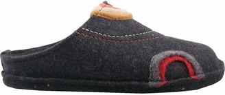 Haflinger Unisex Adults Flair Baikal Open Back Slippers