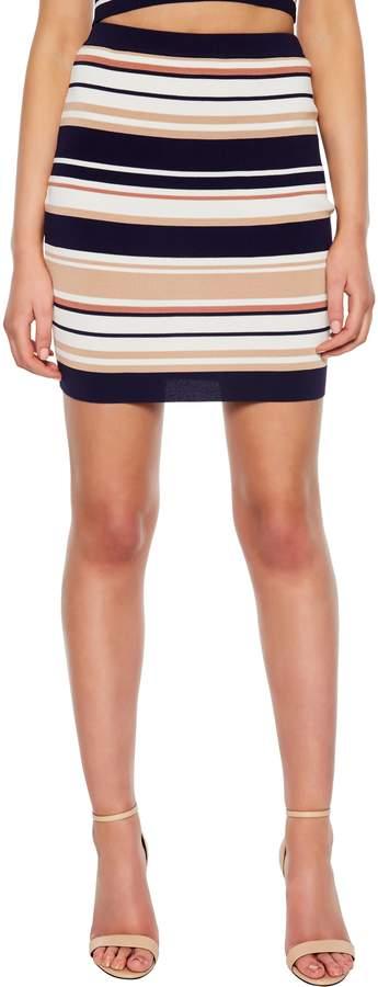 Multistripe Skirt