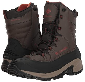 Columbia Bugaboot III (Black/Bright Red) Men's Cold Weather Boots