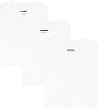Jil Sander three-pack cotton T-shirt set