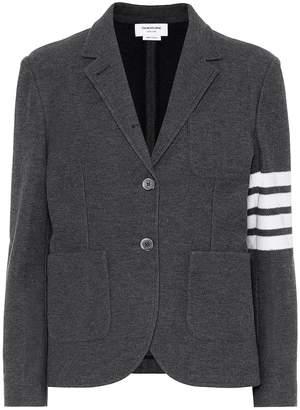 Thom Browne Cotton jersey blazer
