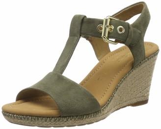 Gabor Shoes Women's Comfort Sport Ankle Strap Sandals Beige (Natur/Silk(Jute/N) 90) 6.5 UK