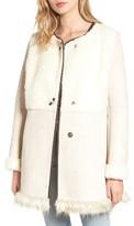 Sam Edelman Women's Faux Shearling Car Coat