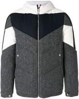 Moncler Gamme Bleu hooded bomber jacket