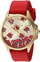 Juicy Couture Women's 1901527 JETSETTER Analog Display Quartz Red Watch