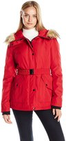 Jessica Simpson Women's Belted Active Puffer