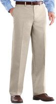 Croft & Barrow Big & Tall Easy-Care Classic-Fit Stretch Flat-Front Pants