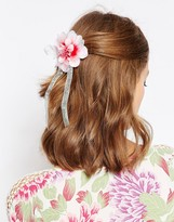 Asos Flower Bow Hair Corsage & Brooch