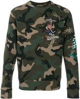Valentino camouflage sweatshirt - men - Cotton/Polyamide/Polyester/Viscose - S