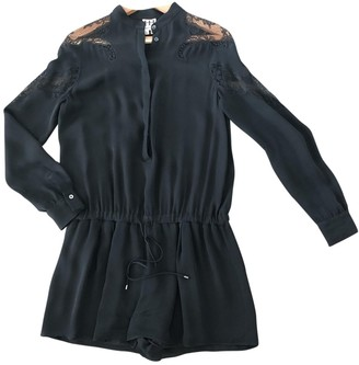 Haute Hippie Black Silk Jumpsuit for Women