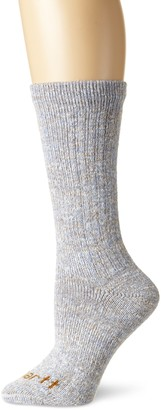Carhartt Women's Rainbow Twist Hiking Crew Sock