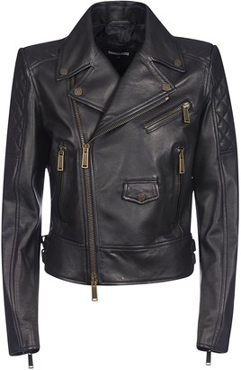 DSQUARED2 Classic Zipped Biker Jacket
