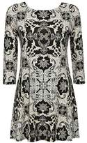 Wallis Black Paisley Print Swing Tunic Top