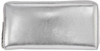 Comme des Garcons Wallets Silver Continental Wallet