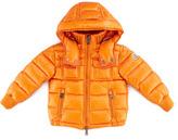 Moncler Boys' Hooded Ski Jacket, Orange, Sizes 8-10