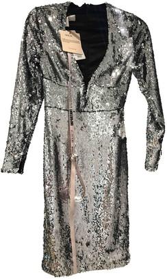 House Of CB Silver Glitter Dress for Women