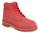 Timberland Girl's 6-Inch Premium Waterproof Boot