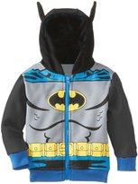 Janeyer® Janeyer Children Boys Fall Winter Bat Man Sweater Hoodies Outwear Jacket Grey