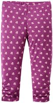 Kickee Pants Legging w/Heart Buttons (Baby) - Amethyst-18-24 Months