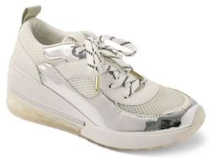 BCBGeneration Weddi Lace-Up Sneakers Women's Shoes