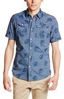 G Star Men's Arc 3D Short-Sleeve Shirt