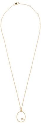 Yvonne Léon Diamond & 9kt Gold Pendant Necklace - Yellow Gold