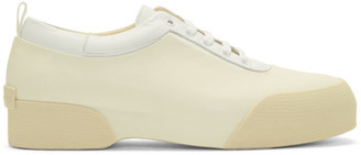 Dries Van Noten White Rubber Sneakers