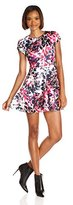 Parker Women's Fawn Short Sleeve Fit and Flare Dress