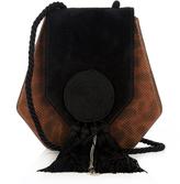 Saint Laurent Opium 3 classic leather and suede shoulder bag