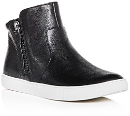 Gentle Souls by Kenneth Cole Women's Carter Leather High Top Sneakers