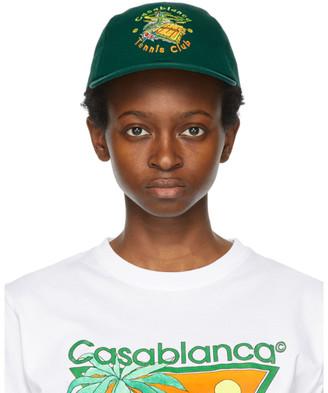 Casablanca Green Tennis Club Cap