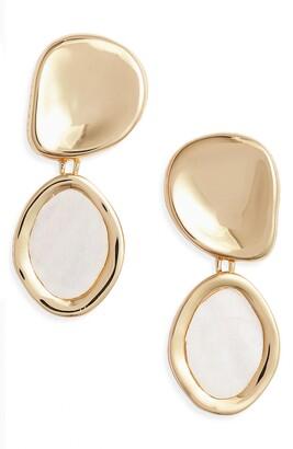 Jenny Bird Mithras Mother-of-Pearl Drop Earrings