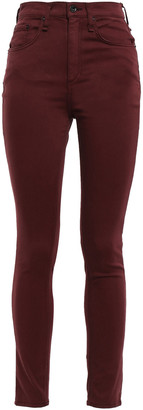 Rag & Bone Cotton-blend High-rise Skinny Pants