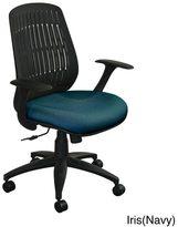 Marvel Flex-Back Adjustable Wave Chair with Black Base