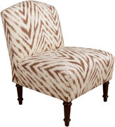JCPenney Allison Camelback Chair - Amir Print