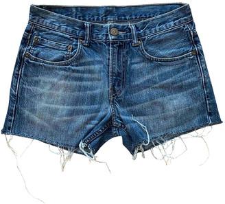 Levi's Vintage Clothing Blue Cotton Shorts