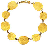 Gurhan 24K Gold Linked Disc Bracelet